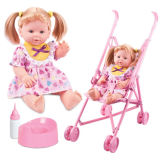 Girl Toys Fashion Doll with Trolley (H0318237)