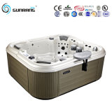 Hot Sale Wooden Massage Freestanding Hot Tub, Corner Hot Tub