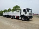 Hongyan Genlyon Cargo Truck with Full Trailer