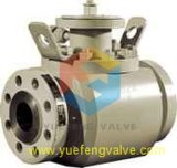 API6d Forged Top Entry Ball Valve