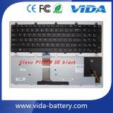 Laptop Keyboard/Bluetooth Keyboard for Clevo P150em P170em P370em P570wm