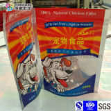 Stand up Ziplock Dog Food Plastic Packaging Bag