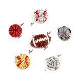 Hot Sale Rugby Football Volleyball Softball Baseball Basketball Slide Charm Jewelry (SBB50807)