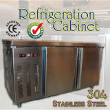 Stainless Steel 304 Refrigeration Cabinet with Two Doors