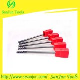 CNC Tungsten Steel Solid Carbide Long Shank Square End Milling Cutter