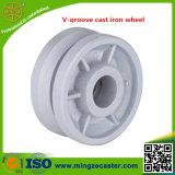 Heavy Duty V-Groove Iron Castor Wheel
