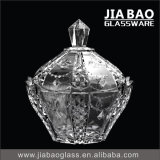 New Design Decorative Glass Jar (GB1825XL)
