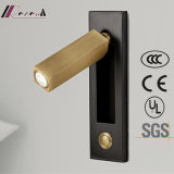 Bedside Aluminum Reading Wall Lamp for Hotel