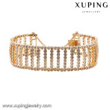 74658 Fashion Big Wide 18k Gold Plated Jewelry King Bracelet