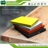 Slim Portable Power Bank 2200mAh/2600mAh with Free Sample