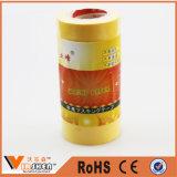 Customized Yellow Automotive Crepe Paper Masking Tape