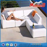 Hotel Outdoor Patio Moden Leather Sofa