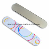 New Design Compact Nail File with One Side Acrylic Mirror for Girls BPS095