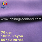 100% Rayon Solid Fabric to Clothes Factory (GLLML441)