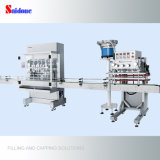 Automatic Filling Machine and Capper for Producing Washing-up Liquid with Overseas Service