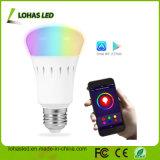 UL Dimmable E27 9W RGB WiFi Smart LED Bulb