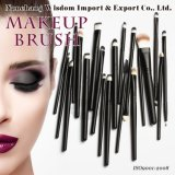 20 PCS Foundation Eyeshadow Eyeliner Black Makeup Brush