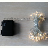 Corridor Decorative Soft Romantic Hanging Christmas String LED Lights with Flexible Line Connected