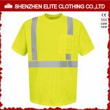 Mens Workwear Safety High Vis Reflective T Shirt (ELTSPSI-21)