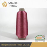 High Quality 100% Polyester Metallic Yarn for Table-Cloth