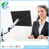 Jeo Factory-Direct-Price Height Adjustable Ys-Ds312c Aluminum Monitor Mount Stand