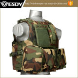 Esdy Tactical Army Vest Combat Safety Bulletproof Vest