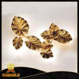 New Style Modern Cooper Leaf Wall Lamps (KA8857W-6)
