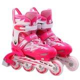 Kids LED Light Wheel Roller Skate Shoes