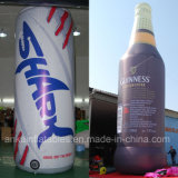 Customized Inflatable Beverage Bottle Can for Promotion Advertising