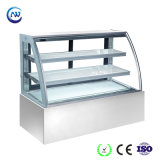 3 Layers Cake Display Cabinet with Stainless Steel Base (KI730A-S2)
