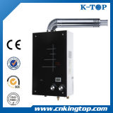 (8L, 10L, 12L) White Panel Balanced Type Gas Water Heater with LCD