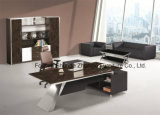 Modern Melamine Metal Executive Manager Table for Office Project