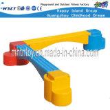 Plastic Single-Plank Bridge Children Outdoor Playground Sets (HF-22107)