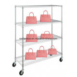 Best Price Chrome Metal Products Display Shelf, NSF & SGS Approval