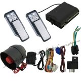 Car Alarm with Two Sliding Remote Controller