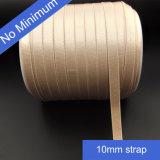 10mm Satin Elastic Bra Strap with Plush Back