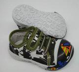 Lateset Fashion Baby Shoes Infant Shoe PVC Sole Shoe (HH17621-3)