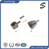 All Metal Crimp RG6 Rg11 Type F Connector