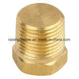 Brass Plug with NPT Thread