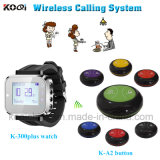 New Technical Restaurant Service Call Wireless Calling System with Sound and Vibration