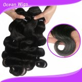 100% Human Hair Natural Color Body Wave Hair Extensions