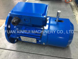 0.55-0.75kw/Msej80/4poles/Alu-Housing Ie1 Three Phase AC Asynchronous Brake Motor with Rectifier