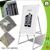 Pavement Single Sided Snap Frame Sign Board/Floor Poster Stand