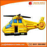 2017 Latest Yellow Inflatable Helicopter Bouncer (T1-910)