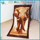 100% Cotton Velour High Quality Printing Custom Animal Beach Towel
