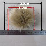 Girly Charm for Hand Bag Large Fur Ball for Beanie