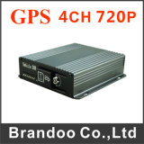 4CH 4G 3G GPS HDD Mobile DVR for Trucks