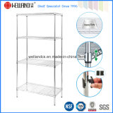 4 Tiers Home Steel Chrome Wire Rack NSF Approval 16 Years Factory