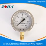 Oil Filled Pressure Gauge 60MPa with Flange