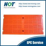 Customized Wear Resistant PU Mesh Polyurethane Vibrating Screen Panel